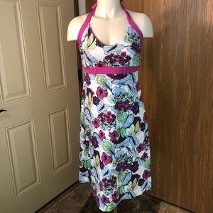 Patagonia Floral Halter Dress - Size M